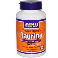 Taurine 1000 мг (100капс)