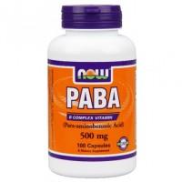 PABA витамин В10, 500 мг (100капс)