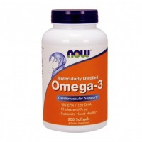 Omega-3 Molecularly Distilled (200капс)