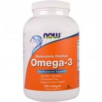 Omega-3 Molecularly Distilled (500капс)